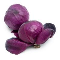 春播农庄有机栽培紫甘蓝500g