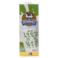 澳大利亚德运脱脂纯牛奶1L