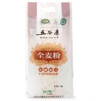 五谷康有机石磨全麦粉2kg(高筋)
