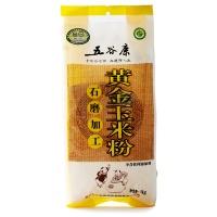 五谷康有机石磨黄金玉米粉1kg