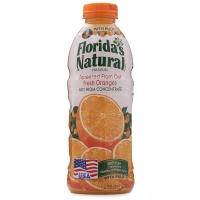 美国进口佛罗瑞达含果肉橙汁1L