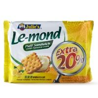 马来西亚茱蒂丝雷蒙德柠檬夹心饼170g