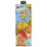 塞浦路斯凯莉欧7种混合果汁1L