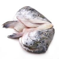 春播冰鲜水产大西洋三文鱼头 1只装 非真空