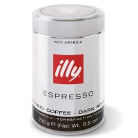 意大利illy深度烘焙浓缩咖啡粉250g