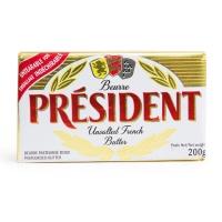 法国 总统牌淡味黄油块200g