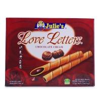 马来西亚茱蒂丝巧克力味蛋卷100g+赠50g