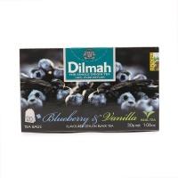 斯里兰卡迪尔玛蓝莓香草味红茶1.5g×20