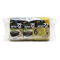 韩国清净园橄榄油传统海苔4.5g×9包