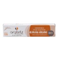 法国安适蕾矿物泥大茴香精油亮白健齿牙膏75ml
