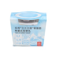乐纯零脂肪元气酸奶135g