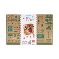 若态儿童山姆书店木质拼图拼装模型1盒