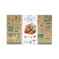 若态凯西花房儿童立体木质拼装模型1盒