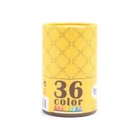 美乐儿童可水洗大蜡笔36色1盒