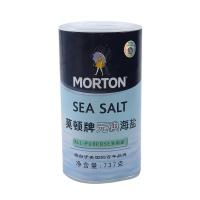 莫顿牌无碘海盐737g