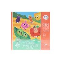 美乐儿童大块拼图-蔬菜家族