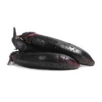 春播联盟农庄有机栽培黑美长茄400g