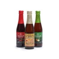 比利时林德曼果味啤酒250ml*3