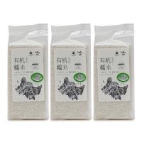 大地厨房黑龙江有机糯米500g*3