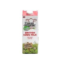 英国绿英宝有机超高温灭菌乳(脱脂)1L