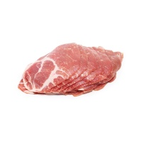 加拿大富硒猪梅花肉片350g