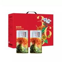 福润嘉红花籽油1L*2礼盒