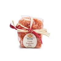 意大利直采玛蕾拉手工蔬菜橘色短直条意面200g
