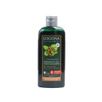 德国诺格娜天然榛子护色护发洗发水250ml黑色褐色