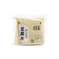 白玉豆腐片(真空包装)150g