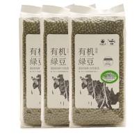 大地厨房洮南有机绿豆450g×3