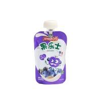 果乐士蓝莓黑加仑酸奶风味果泥90g