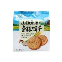 北方绿人无蔗糖山药薏米杂粮饼干390g