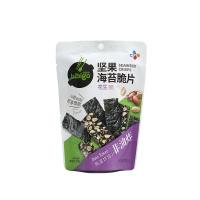 必品阁坚果海苔脆片花生味20g
