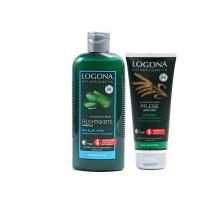 德国诺格娜芦荟保湿洗发水+护发素