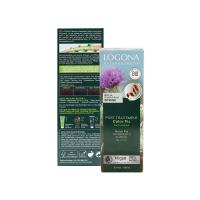 诺格娜植物染发粉巧克力色+固色调理素