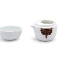 陆宝随福青玉茶具
