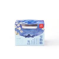 乐纯蓝莓接骨木味零脂肪希腊式发酵乳