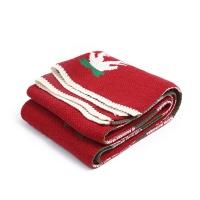 圣诞节针织毛线围巾