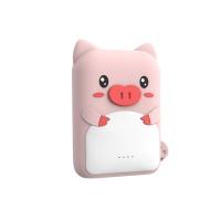 超萌可爱充电宝数据线套装10000毫安 Ri
