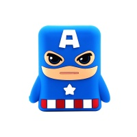 创意卡通充电宝10000毫安 萌哒美国队长