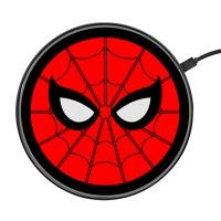 超薄10W无线充桌面充电器 漫威蜘蛛侠