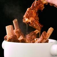 西贝经典蒙古牛大骨套餐约5.3斤