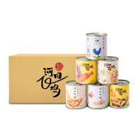开罐即食原味鸡汤 6罐×284g装