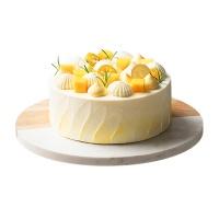美作百香果芒果蛋糕8寸