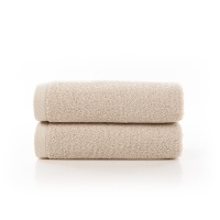 长绒棉面巾米色款
