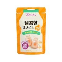 韩国品可粒酸奶味夹心软糖50g
