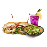 Titikaka秘鲁风味植物肉印加三明治套餐