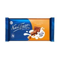 芬兰卡菲泽海盐牛奶巧克力145g