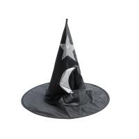 万圣节星月巫师帽
