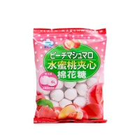 日式水蜜桃夹心棉花糖90g